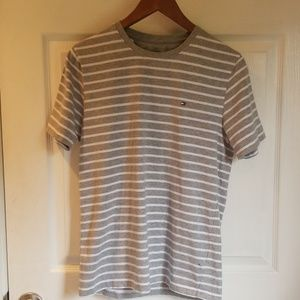 Tommy Hilfiger Gray striped Tee
